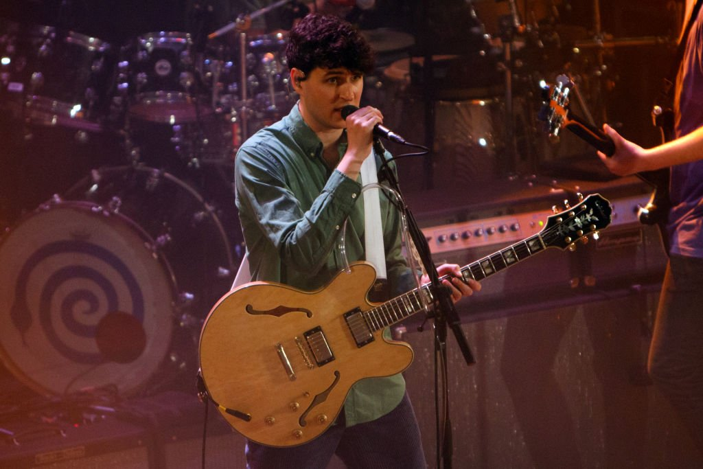 Ezra Koenig of Vampire Weekend performs onstage at Islington Assembly Hall on March 22, 2019 in London, England. (Photo by Burak Cingi/Redferns via Getty Images)